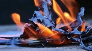 Burning it up