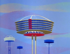 1963 Jetsons apartment