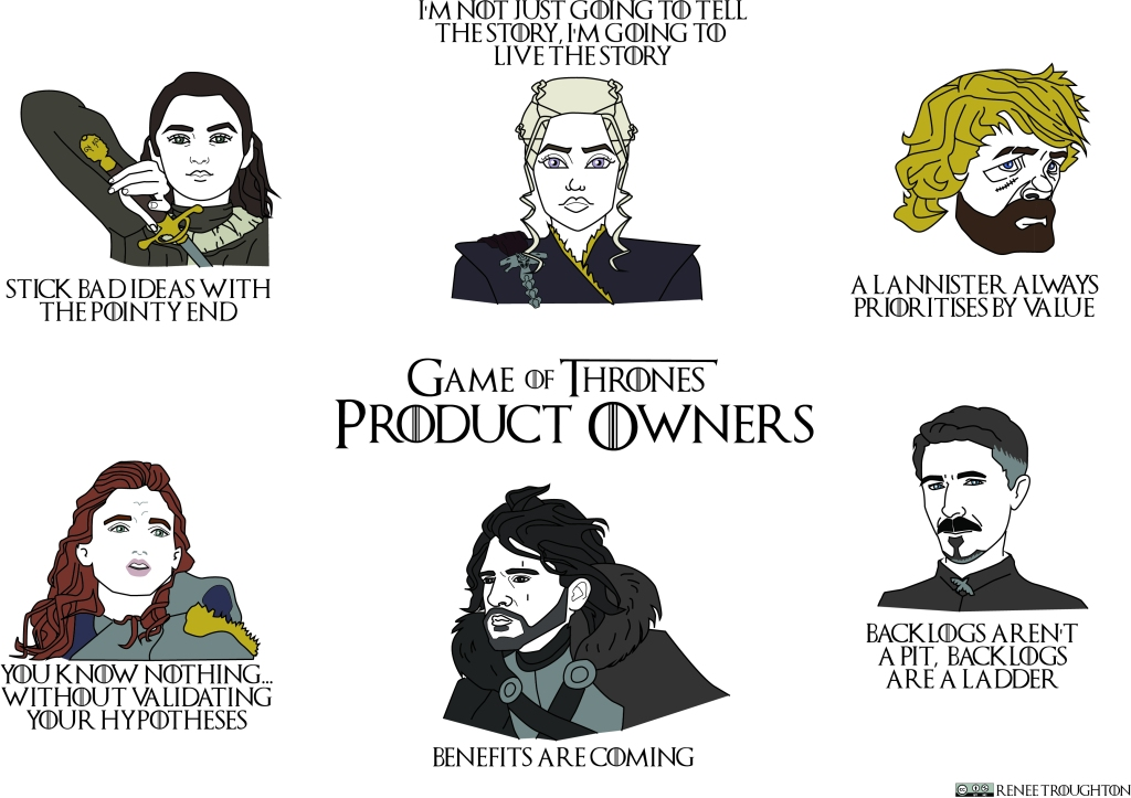 What would Game of Thrones Characters say if they were a Product Owner?